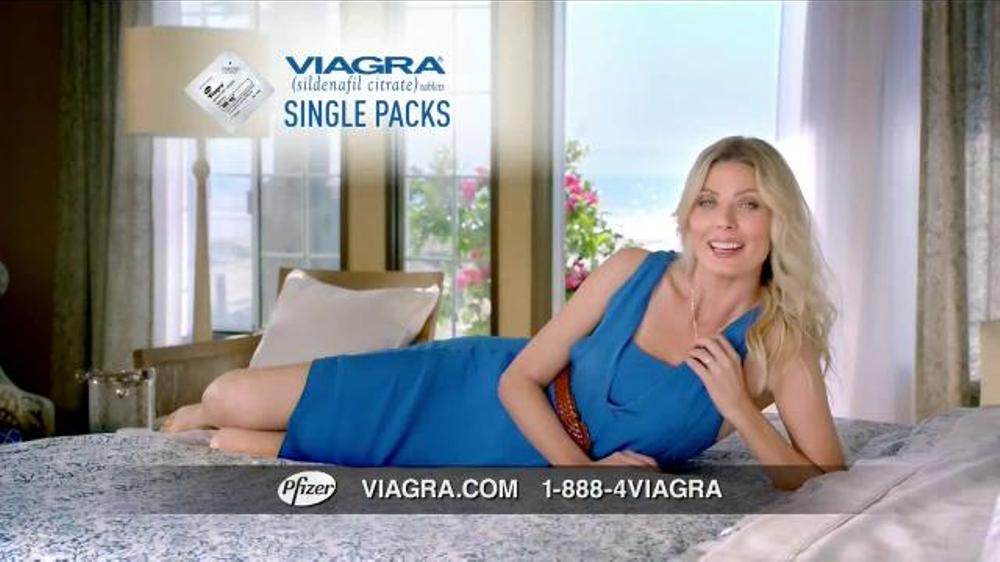 Viagra tv commercial actress