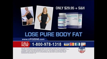 Lipozene TV Spot, 'Lose Pure Body Fat'