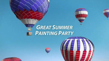 Sherwin-Williams Great Summer Painting Party TV Spot, \'This June and July\'