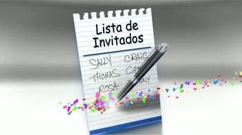 Snackeez TV Spot, 'Lista de invitados' [Spanish]