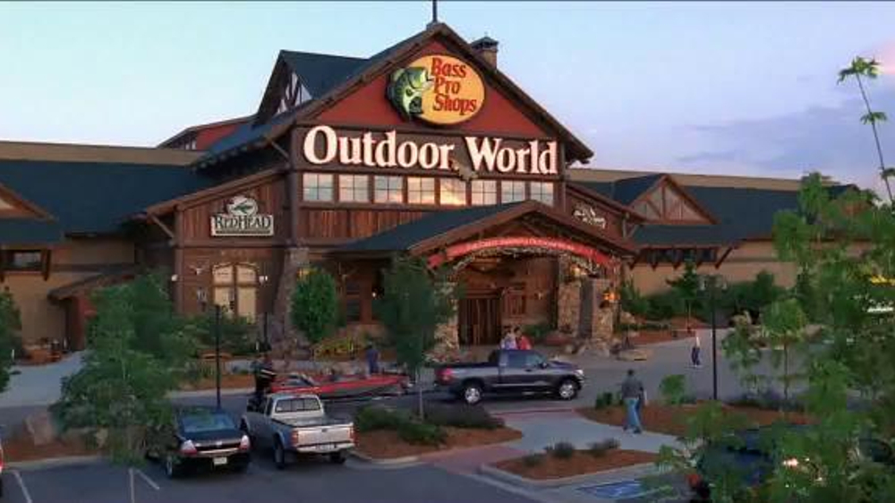 Watch video · About Bass Pro Shops 4th of July Sale TV Commercial, 'Camping Traditions' One after another a group of kids run off of a dock and into a lake, a dad stokes the fire for the perfect marshmallow and a mom and daughter return from a hike.