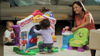Fisher Price Laugh & Learn Learning Home & Story Learning Chair TV Spot - 1045 commercial airings