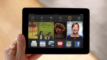 Amazon Kindle Fire HDX TV Spot, 'Mayday' - Thumbnail 3