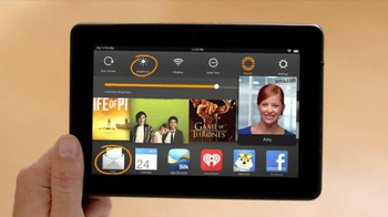 Amazon Kindle Fire HDX TV Spot, 'Mayday' - Thumbnail 7