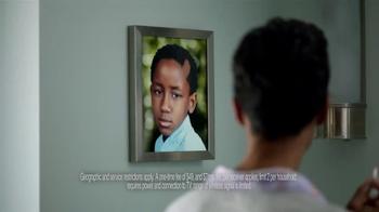 AT&T U-Verse Wireless Receiver TV Spot, 'Haircut'