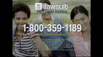 iLawsuit Legal Hotline TV Spot, 'Yaz' - Thumbnail 9