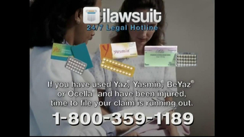 iLawsuit Legal Hotline TV Spot, 'Yaz' - Thumbnail 7