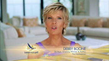 Lifestyle Lift TV Spot, 'Looks Years Younger' Featuring Debby Boone