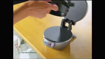 Hamilton Beach Breakfast Sandwich Maker TV Spot - Thumbnail 8
