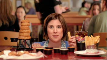 Red Robin Dipping Sauces TV Spot, 'Not Made with Real Buzzards' - Thumbnail 3