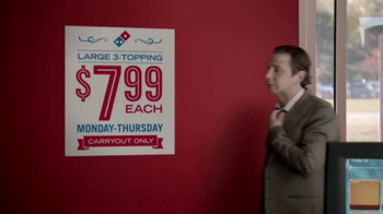 Domino's Pizza TV Spot,  'Weeknights Powered by Pizza' - 15522 commercial airings