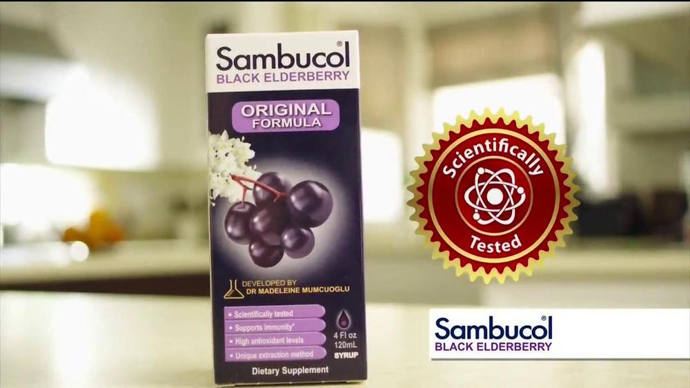 Sambucol Tv Commercial Immunities Ispot Tv