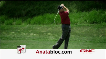 Anatabloc TV Spot, Feat. John Isner, Fred Couples