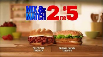 Burger King Pulled Pork Sandwich TV Spot, '2 for $5: What You're Craving' - Thumbnail 5