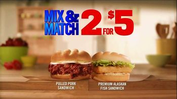 Burger King Pulled Pork Sandwich TV Spot, '2 for $5: What You're Craving' - Thumbnail 6