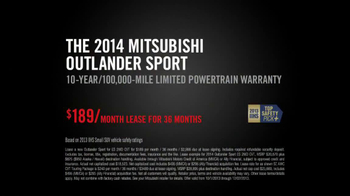 2014 Mitsubishi Outlander Sport TV Spot, 'New Beauty' Song Bobby Caldwell - Thumbnail 10