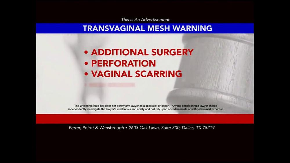 transvaginal mesh essay