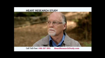 Heart Research Study TV Spot - Thumbnail 1