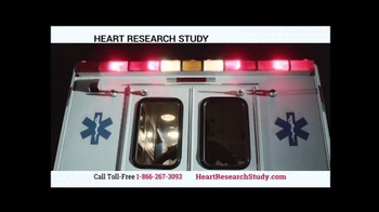 Heart Research Study TV Spot - Thumbnail 3