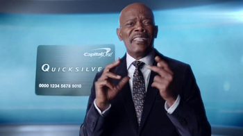 Capital One Quicksilver TV Spot, 'Kaching' Ft. Samuel L. Jackson - Thumbnail 4