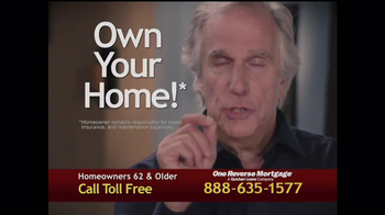 One Reverse Mortgage TV Spot, 'Myths' Featuring Henry Winkler - Thumbnail 6