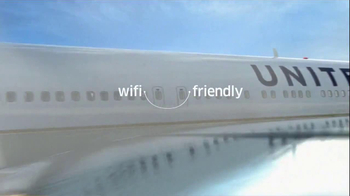 United Airlines TV Spot, 'Be Connected While you Fly'