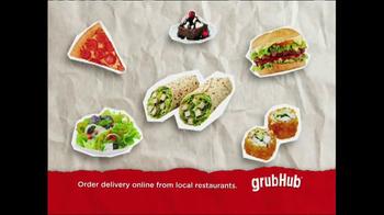 GrubHub TV Spot, 'Dressin' on the Side' - Thumbnail 7