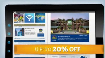 BestWestern.com TV Spot, 'Save up to 20 Percent'