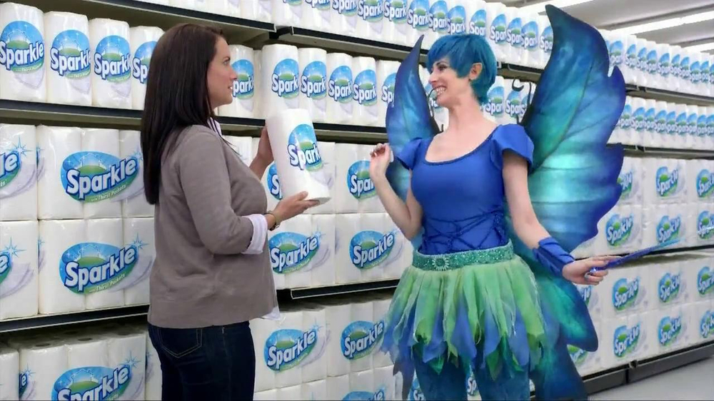 Sparkle Towels Tv Commercial Fairy Ispot Tv