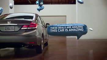 Honda Civic Commercial >> Honda Civic Tv Commercial Pick Your Perfect Civic Ispot Tv