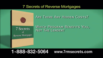 7 Secrets of Reverse Mortgages TV Spot, 'Get the Facts' - Thumbnail 5