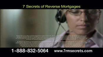7 Secrets of Reverse Mortgages TV Spot, 'Get the Facts' - Thumbnail 7