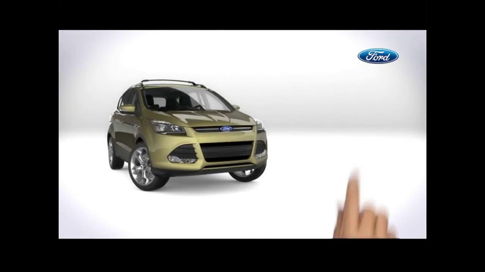 2014 Ford Escape TV Commercial, 'A Closer Look' - iSpot.tv