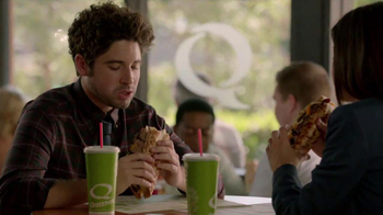 Quiznos Bourbon Steak Sub TV Spot, 'Floasted' - Thumbnail 2