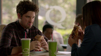 Quiznos Bourbon Steak Sub TV Spot, 'Floasted' - Thumbnail 7