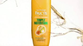 Garnier Fructis Triple Nutrition TV Spot, 'Desperately Dry' - Thumbnail 3