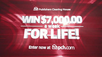 Publishers Clearinghouse TV Spot, '$7000 a Week' - Thumbnail 10
