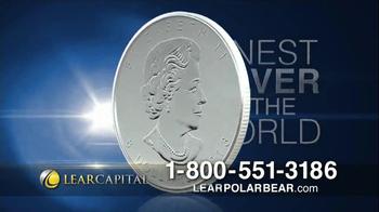 Lear Capital Silver Polar Bear TV Spot, 'Market Fears'