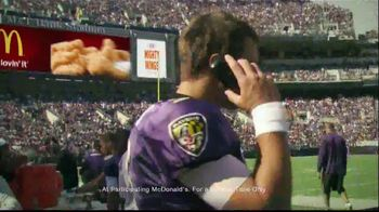 McDonald's Mighty Wings TV Spot, 'Lip Read' Ft Joe Flacco, Colin Kaepernick - Thumbnail 9