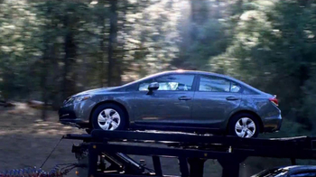 Honda Civic Commercial >> Honda 2013 Civic Tv Commercial Paul S Civic Ispot Tv
