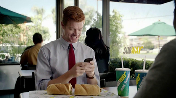 Subway Tuscan Chicken Melt TV Spot, 'Hashtag'