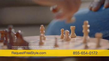 FreeStyle Freedom Lite TV Spot, 'Rest Assured' - Thumbnail 4