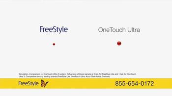 FreeStyle Freedom Lite TV Spot, 'Rest Assured' - Thumbnail 7