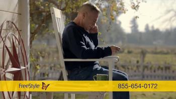 FreeStyle Freedom Lite TV Spot, 'Rest Assured' - Thumbnail 8