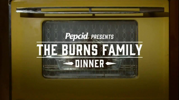 Pepcid TV Spot, 'The Burns Family Dinner'