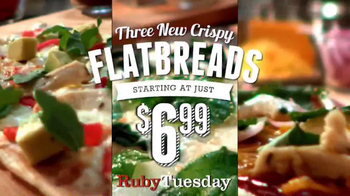 Ruby Tuesday Flatbreads TV Spot
