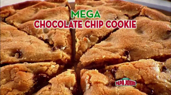 Papa John's Mega Chocolate Chip Cookie TV Spot
