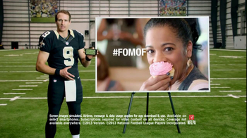NFL Mobile TV Spot, 'Baby Shower' Featuring Drew Brees - Thumbnail 9