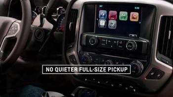 2014 Chevrolet Silverado TV Spot, 'Quiet Cab' - Thumbnail 5