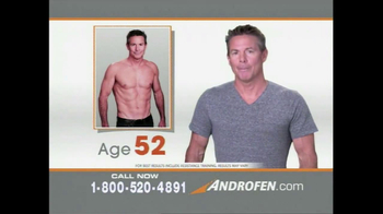 Androfen TV Spot, 'Boost Free Testosterone'